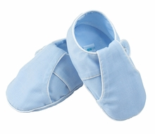 Feltman Brothers Baby Boys Classic Strap Booties - Blue