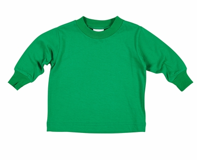 Florence Eiseman Baby / Toddler Boys Long Sleeved Knit Shirt - Green