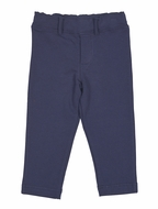 Florence Eiseman Baby / Toddler Boys French Terry Pull On Pants - Navy Blue