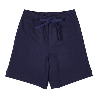 Florence Eiseman Boys French Terry Shorts - Navy Blue