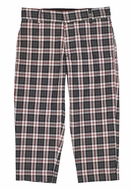 Florence Eiseman Boys Grey / Red Plaid Dress Pants