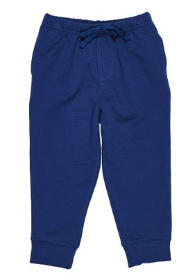 Florence Eiseman Knits Baby / Toddler Boys French Terry Jog Pants - Navy Blue
