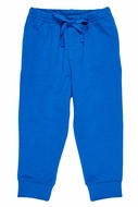 Florence Eiseman Knits Baby / Toddler Boys French Terry Jog Pants - Royal Blue