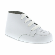 Footmates Baby Shoes - Classic Crib - White