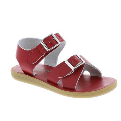 Footmates Childrens Shoes - Tide Sandals - Apple Red
