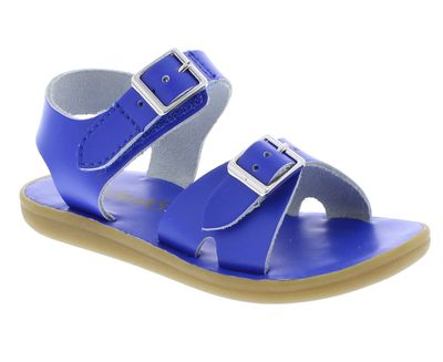 Footmates Childrens Shoes - Tide Sandals - Royal Blue