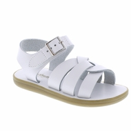 Footmates Girls / Boys Shoes - Wave Sandals - White