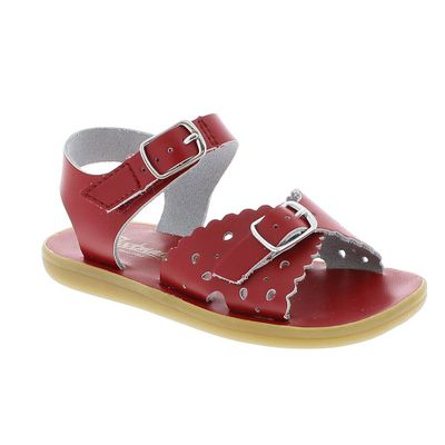 Footmates Girls Shoes - Ariel Sandals - Apple Red