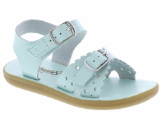 Footmates Girls Shoes - Ariel Sandals - Mint Green