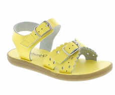 Footmates Girls Shoes - Ariel Sandals - Sunbeam Yellow