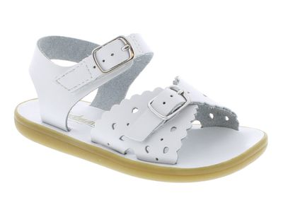 Footmates Girls Shoes - Ariel Sandals - White