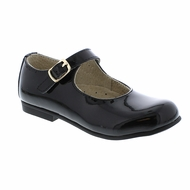 Footmates Girls Shoes - Laura - Black Patent