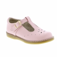 Footmates Girls Shoes - Sherry T-Strap - Light Pink