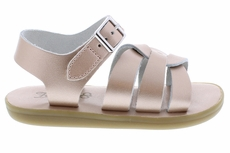 Footmates Girls Shoes - Wave Sandals - Rose Gold