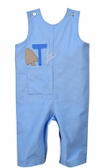 Funtasia Baby / Toddler Boys Blue Longall - Tools in Pocket