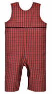 Funtasia Baby / Toddler Boys Red Holiday Plaid Longall