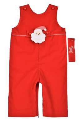 Funtasia Baby / Toddler Boys Red Santa Longall with Tab