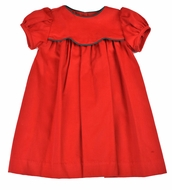 Funtasia Baby / Toddler Girls Red Scallop Bodice Float Dress