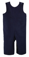 Funtasia Color Works Baby / Toddler Boys Corduroy Longall - Navy Blue