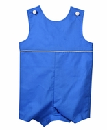 Funtasia Too Baby / Toddler Boys French Blue Shortall
