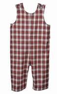 Funtasia Too Baby / Toddler Boys Red Holiday Plaid Longall