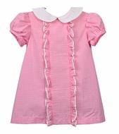 Funtasia Too Baby / Toddler Girls Pink Gingham Ruffle Float Dress