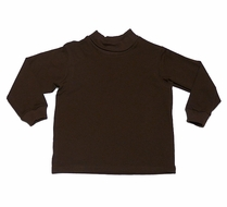 Funtasia Too Boys / Girls Unisex Turtleneck Shirt - Brown