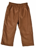 Funtasia Too Boys Pull On Pants - Camel Corduroy