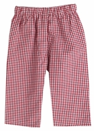 Funtasia Too Boys Pull On Pants - Red Check