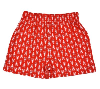 Funtasia Too Boys Pull On Knit Shorts - Red Lobsters