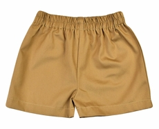 Funtasia Too Boys Pull On Shorts - Tan Khaki