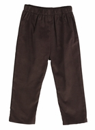 Funtasia Too Color Works Boys Pull On Pants - Corduroy - Dark Brown