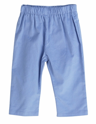 Funtasia Too Color Works Boys Pull On Pants - Corduroy - Periwinkle Blue