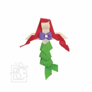 Beyond Creations Girls Pinch Clip Add-On to Bow - Little Mermaid Ariel