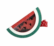 Girls Pinch Clip Add-On to Bow - Shaker Watermelon