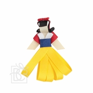 Beyond Creations Girls Pinch Clip Add-On to Bow - Snow White