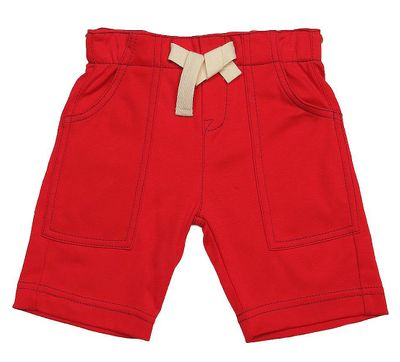 Gnu Brand by Lemon Loves Lime Boys Cargo Shorts - True Red