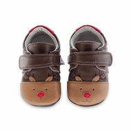 Jack & Lily Baby / Toddler Boys Shoes - Rudy Rudolph Reindeer Shoes