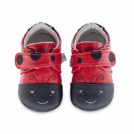 Jack & Lily Baby / Toddler Girls Shoes - Red Adiel Ladybugs