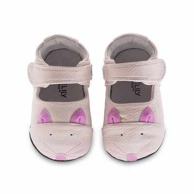 Jack & Lily Baby / Toddler Girls Shoes - Robin Pink Kitty Cat