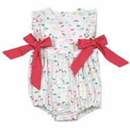 James & Lottie Baby / Toddler Girls Beach Chairs Print Ruthie Bubble with Bows