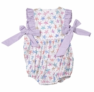 James & Lottie Baby / Toddler Girls Lavender Summer Starfish Bubble