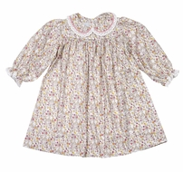 James & Lottie Toddler Girls Lucy Dress - Blossom Floral Print