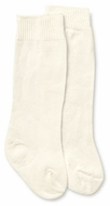 Jefferies Socks Girls and Boys Dress Knee High Socks - Ivory