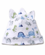 Kissy Kissy Baby Boys Blue Dino Crew Hat
