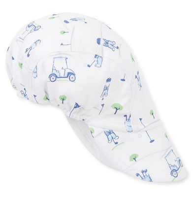 Kissy Kissy Baby Boys Blue First Golf Tee Cap Hat