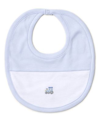 Kissy Kissy Baby Boys Blue Premier Choo Choo Train Bib