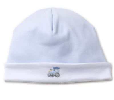 Kissy Kissy Baby Boys Blue Premier Choo Choo Train Hat