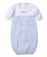 Kissy Kissy Baby Boys Blue Premier Choo Choo Train Sack Gown