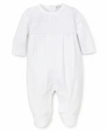 Kissy Kissy Baby Boys / Girls Enchantment White Footie
